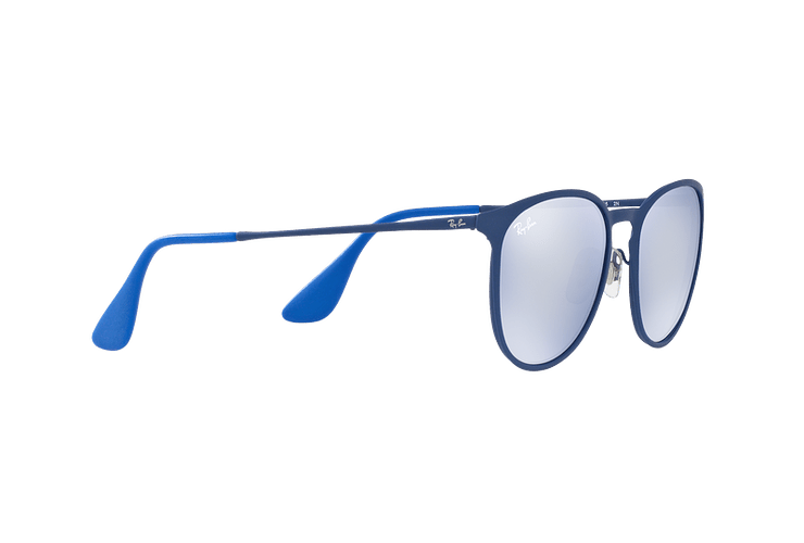 Ray Ban Erika Metal Rubber Electric Blue lente Blue Light Flash cod. RB3539 90221U 54 - Image 10
