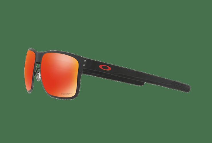 Oakley Holbrook Metal Matte Black lente Ruby PRIZM cod. OO4123-1255 - Image 2