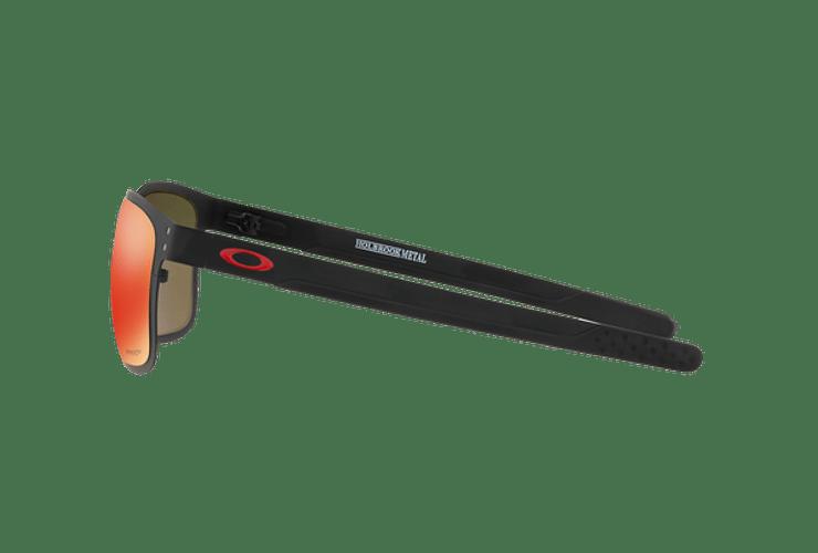 Oakley Holbrook Metal Matte Black lente Ruby PRIZM cod. OO4123-1255 - Image 3