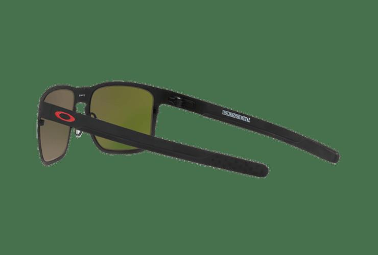 Oakley Holbrook Metal Matte Black lente Ruby PRIZM cod. OO4123-1255 - Image 4