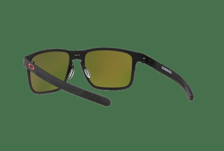 Oakley Holbrook Metal Matte Black lente Ruby PRIZM cod. OO4123-1255 - Image 5