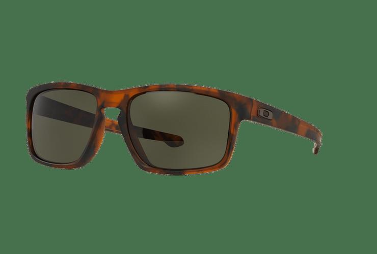 Oakley Sliver (A) Matte Brown Tortoise lente Dark Grey cod. OO9269-0257 - Image 1