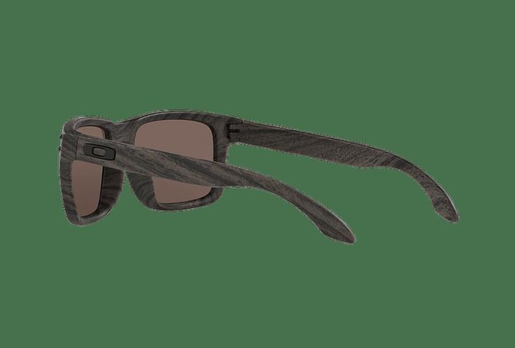 Oakley Holbrook Woodgrain lente Daily Prizm y Polarized cod. OO9102-B755 - Image 4