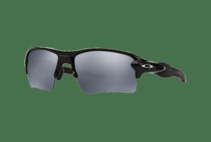 5c96573f0943b Oakley Flak 2.0 XL Polished Black lente Black Iridium Polarized cod.  OO9188-0859 -