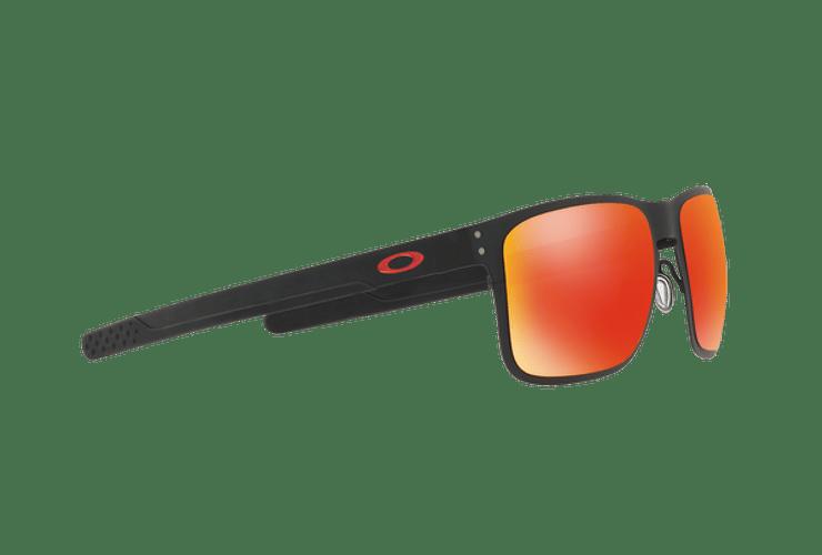 Oakley Holbrook Metal Matte Black lente Ruby PRIZM cod. OO4123-1255 - Image 10