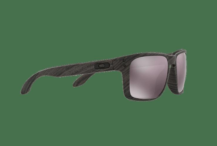 Oakley Holbrook Woodgrain lente Daily Prizm y Polarized cod. OO9102-B755 - Image 10