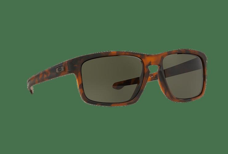 Oakley Sliver (A) Matte Brown Tortoise lente Dark Grey cod. OO9269-0257 - Image 11