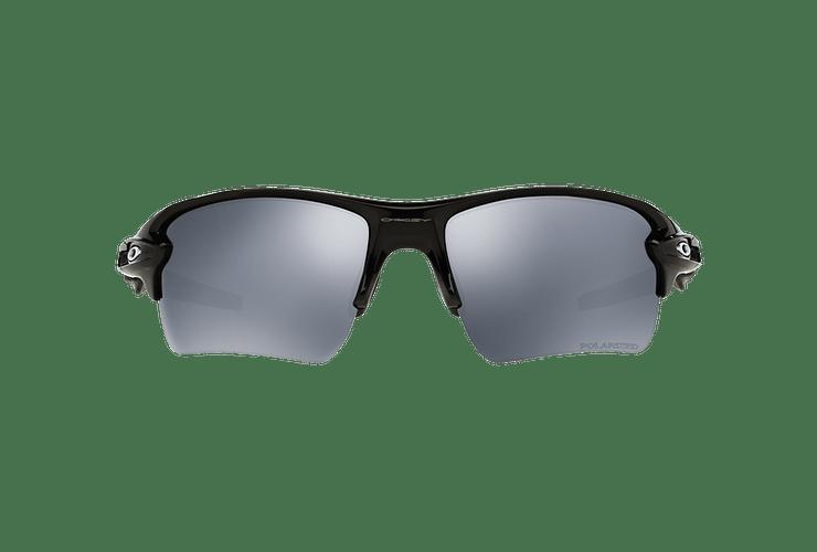 Oakley Flak 2.0 XL Polished Black lente Black Iridium Polarized cod. OO9188-0859 - Image 12