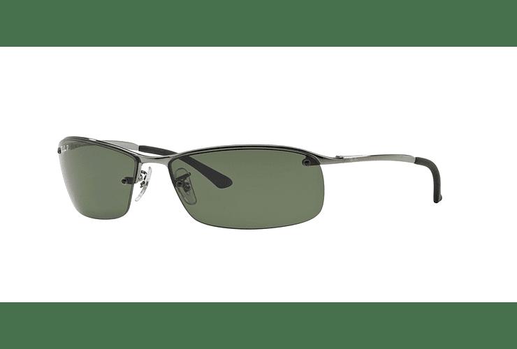 Ray Ban Deportivos RB3183 Gunmetal lente Green Polarized cod. RB3183 004/9A 63 - Image 1