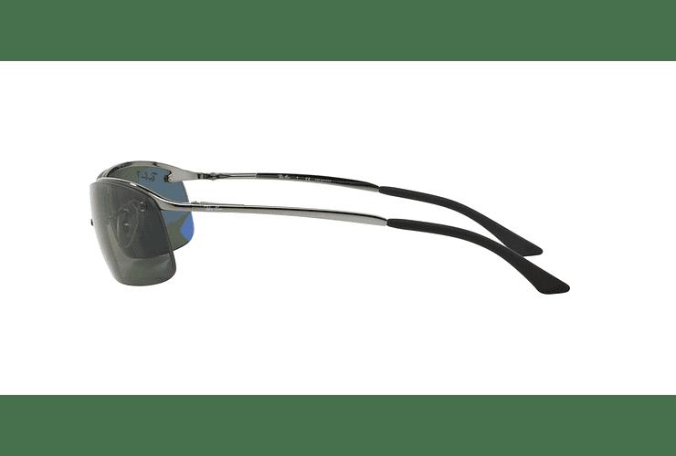 Ray Ban Deportivos RB3183 Gunmetal lente Green Polarized cod. RB3183 004/9A 63 - Image 3