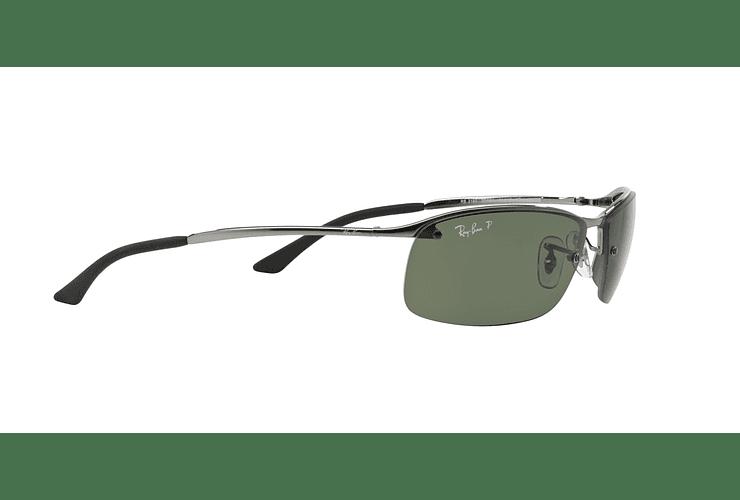 Ray Ban Deportivos RB3183 Gunmetal lente Green Polarized cod. RB3183 004/9A 63 - Image 10