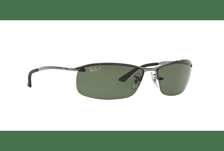 Ray Ban Deportivos RB3183 Gunmetal lente Green Polarized cod. RB3183 004/9A 63 - Image 11
