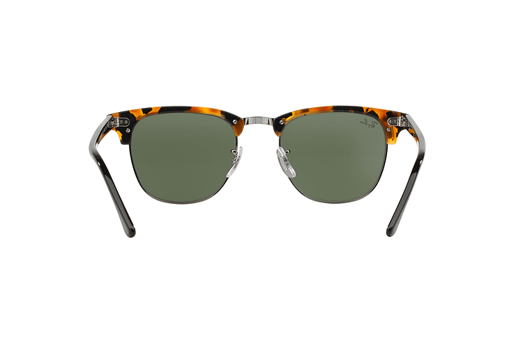 Ray Ban Clubmaster Spotted Black Havana lente Green cod. RB3016 1157 49 - Image 6