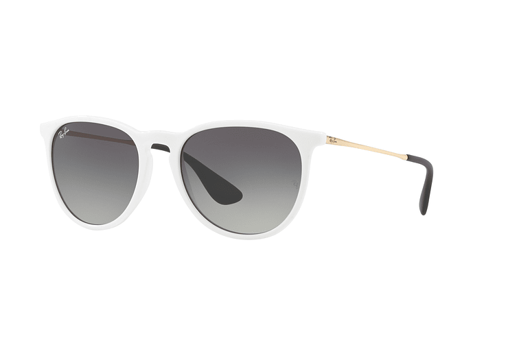 Ray Ban Erika Shiny White lente Dark Grey Gradient cod. RB4171 631411 54 - Image 1
