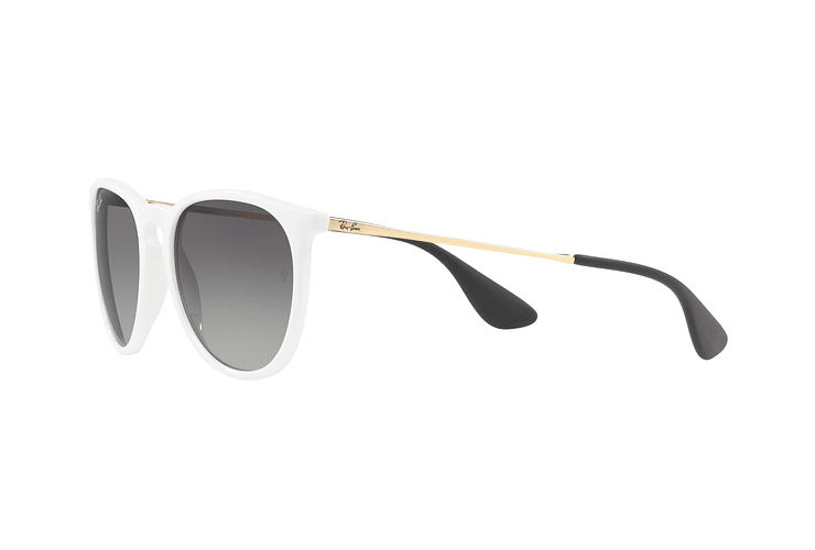 Ray Ban Erika Shiny White lente Dark Grey Gradient cod. RB4171 631411 54 - Image 2