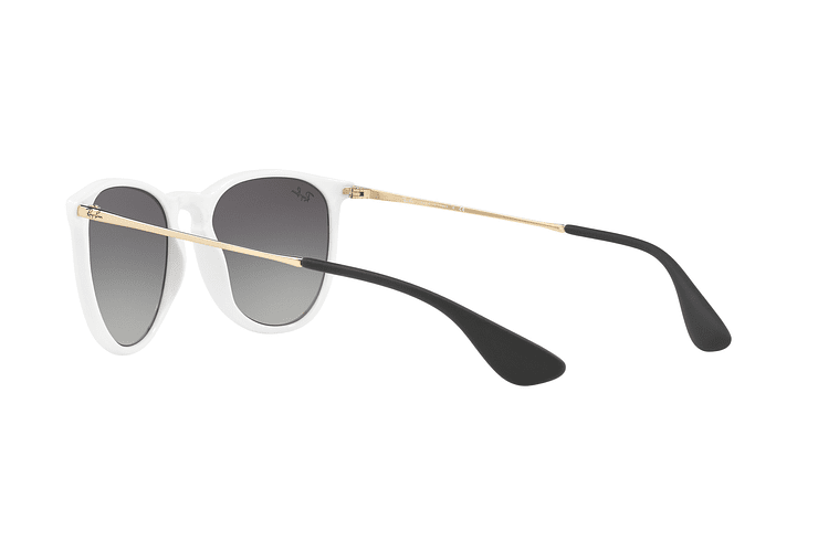 Ray Ban Erika Shiny White lente Dark Grey Gradient cod. RB4171 631411 54 - Image 4