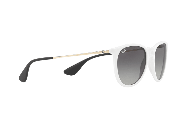 Ray Ban Erika Shiny White lente Dark Grey Gradient cod. RB4171 631411 54 - Image 10