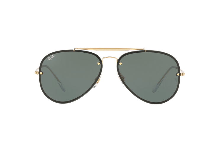 Ray Ban Aviator Blaze Gold lente Dark Green cod. RB3584N 905071 58 - Image 12