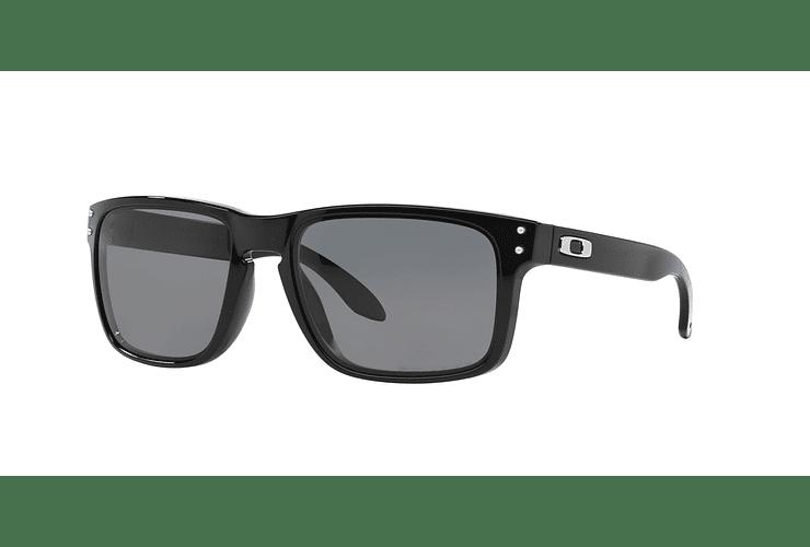 dcd3521223 Oakley Holbrook Polished Black lente Grey Polarized cod. ...