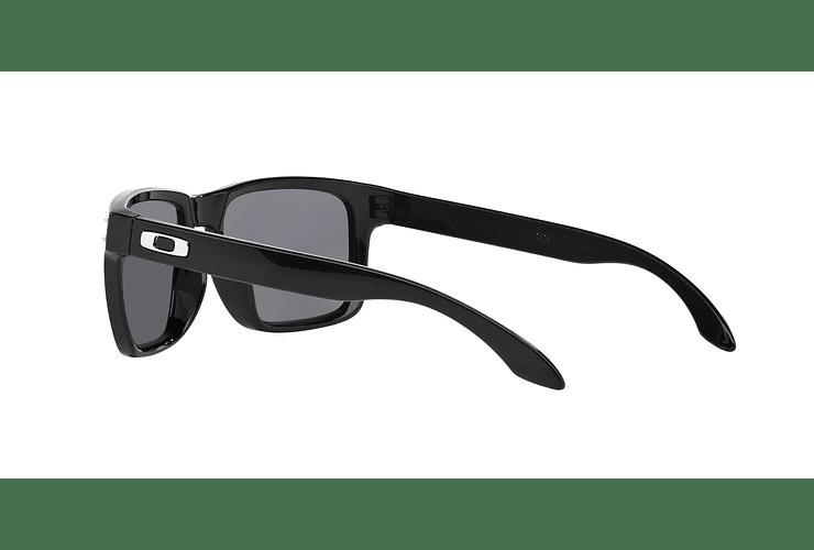 Oakley Holbrook Polished Black lente Grey Polarized cod. OO9102-0255 - Image 4