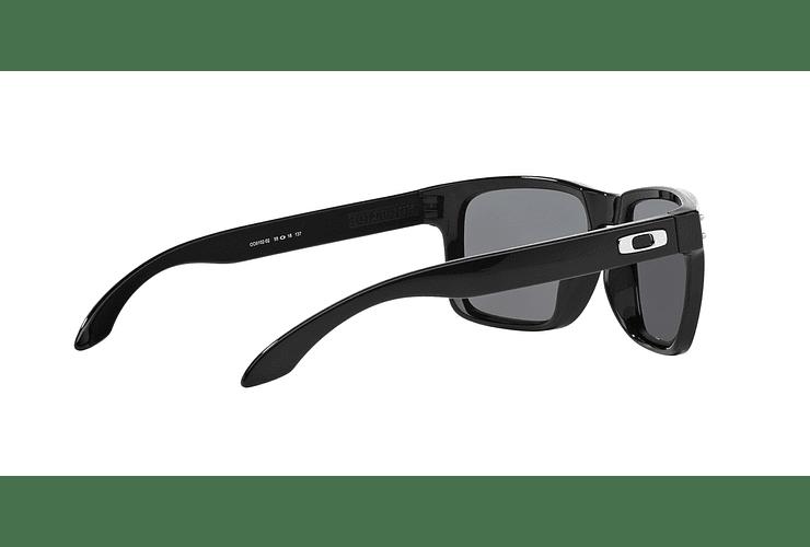 Oakley Holbrook Polished Black lente Grey Polarized cod. OO9102-0255 - Image 8