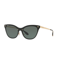 Ray Ban Blaze Cats Brusched Gold lente Dark Green cod. RB3580N 043/71 43