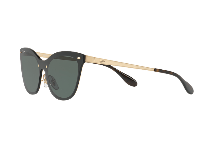 Ray Ban Blaze Cats Brusched Gold lente Dark Green cod. RB3580N 043/71 43 - Image 2