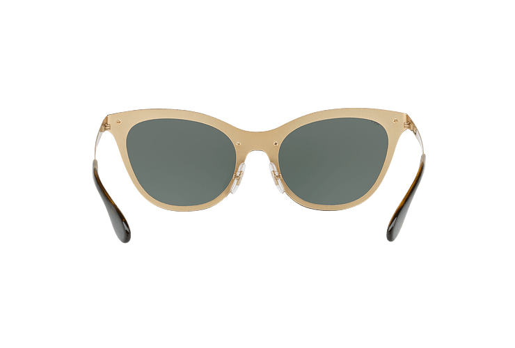 Ray Ban Blaze Cats Brusched Gold lente Dark Green cod. RB3580N 043/71 43 - Image 6