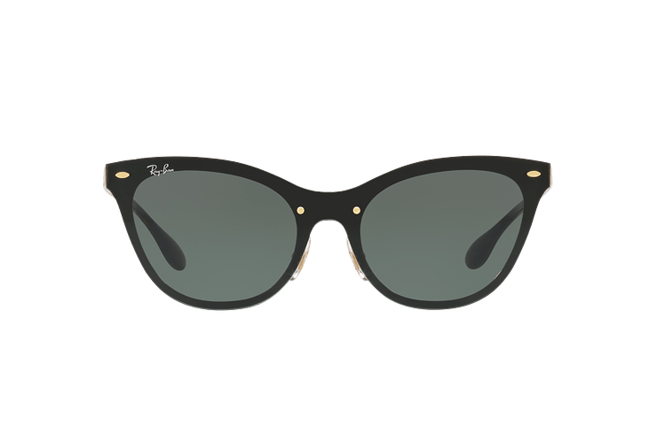 Ray Ban Blaze Cats Brusched Gold lente Dark Green cod. RB3580N 043/71 43 - Image 12