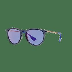 Ray Ban Erika Trasparent Blue lente Dark violet / blue cod. RB4171 6338D1 54