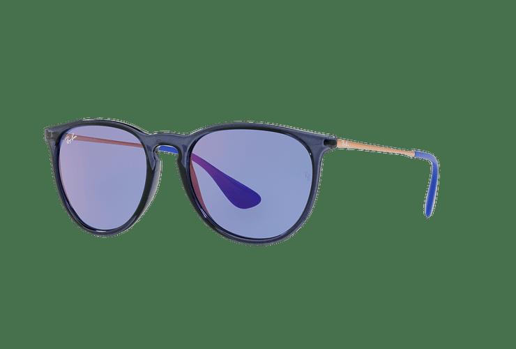 Ray Ban Erika Trasparent Blue lente Dark violet / blue cod. RB4171 6338D1 54 - Image 1