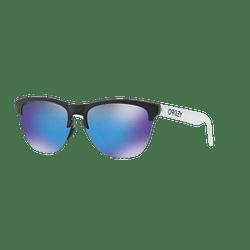 Oakley Frogskins Lite Matte Black lente Sapphire PRIZM cod. OO9374-0263