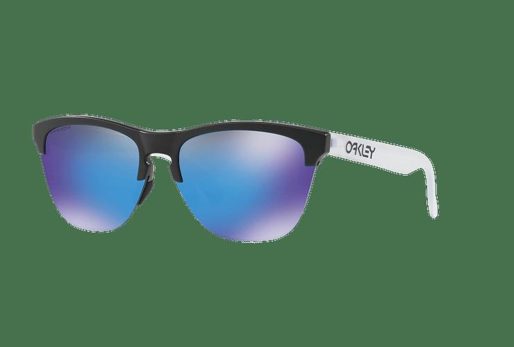 Oakley Frogskins Lite Matte Black lente Sapphire PRIZM cod. OO9374-0263 - Image 1