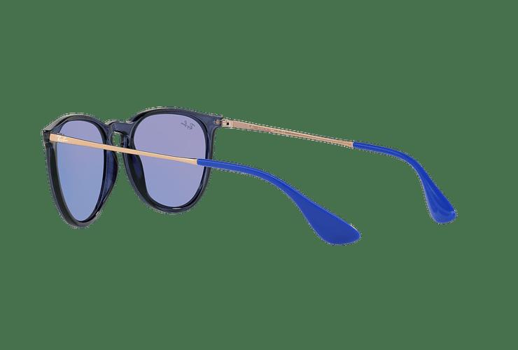 Ray Ban Erika Trasparent Blue lente Dark violet / blue cod. RB4171 6338D1 54 - Image 4