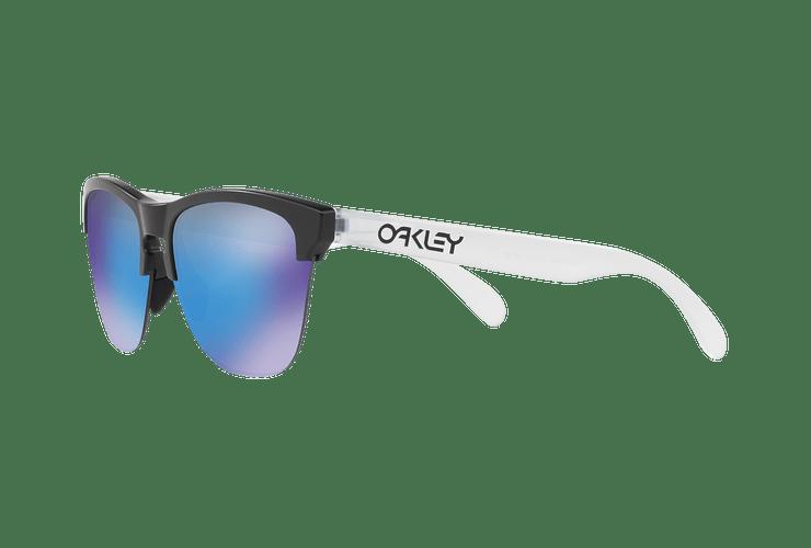 Oakley Frogskins Lite Matte Black lente Sapphire PRIZM cod. OO9374-0263 - Image 2