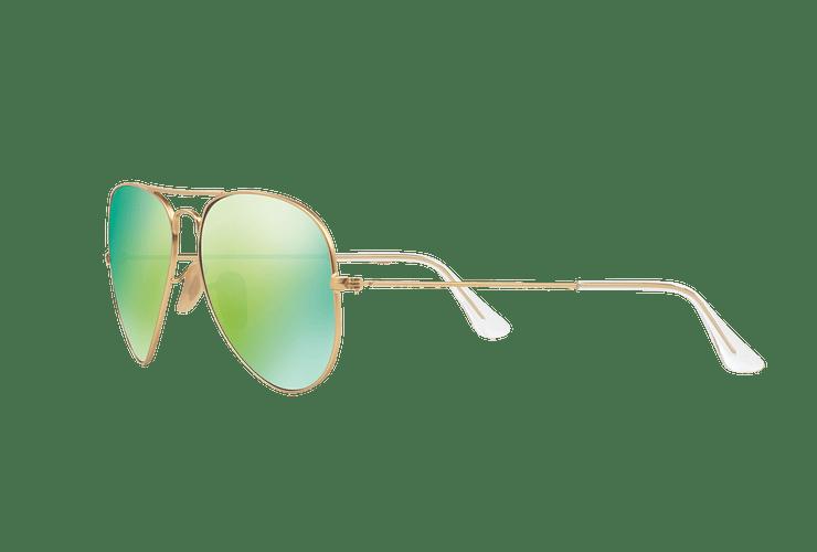Ray-Ban Aviador Matte Gold lente Green Mirror cod. RB3025 112/19 58 - Image 2