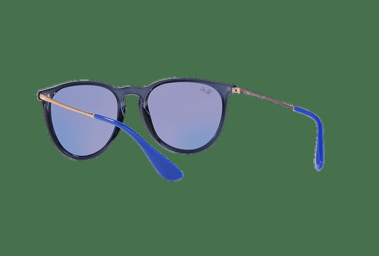 Ray Ban Erika Trasparent Blue lente Dark violet / blue cod. RB4171 6338D1 54 - Image 5