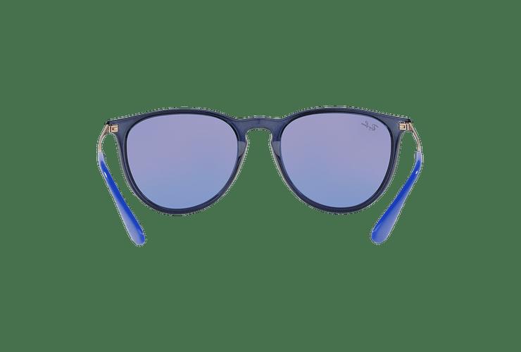 Ray Ban Erika Trasparent Blue lente Dark violet / blue cod. RB4171 6338D1 54 - Image 6