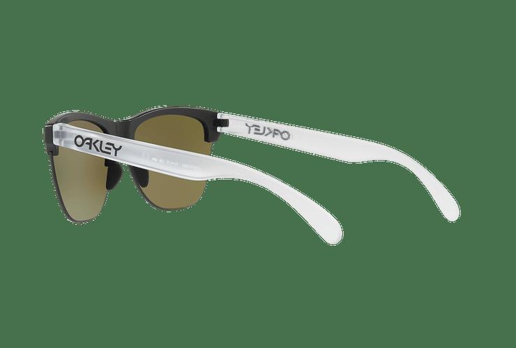 Oakley Frogskins Lite Matte Black lente Sapphire PRIZM cod. OO9374-0263 - Image 4