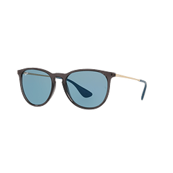 Ray Ban Erika Trasparent Grey lente Light Blue cod. RB4171 6340F7 54