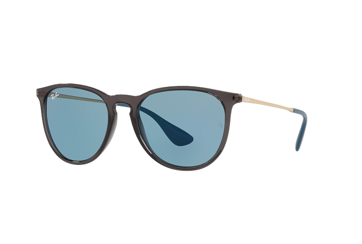 Ray Ban Erika Trasparent Grey lente Light Blue cod. RB4171 6340F7 54 - Image 1