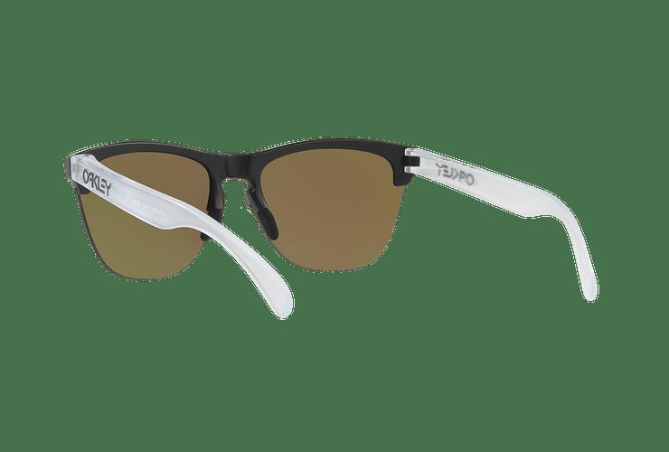 Oakley Frogskins Lite Matte Black lente Sapphire PRIZM cod. OO9374-0263 - Image 5