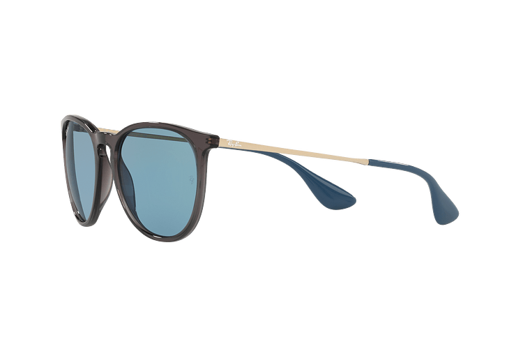 Ray Ban Erika Trasparent Grey lente Light Blue cod. RB4171 6340F7 54 - Image 2