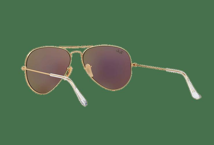 Ray-Ban Aviador Matte Gold lente Green Mirror cod. RB3025 112/19 58 - Image 5