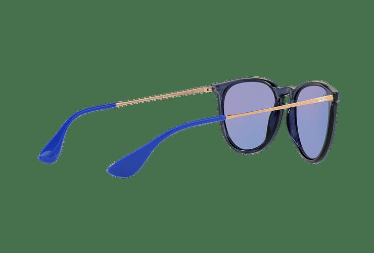 Ray Ban Erika Trasparent Blue lente Dark violet / blue cod. RB4171 6338D1 54 - Image 8