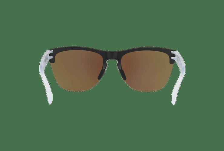 Oakley Frogskins Lite Matte Black lente Sapphire PRIZM cod. OO9374-0263 - Image 6