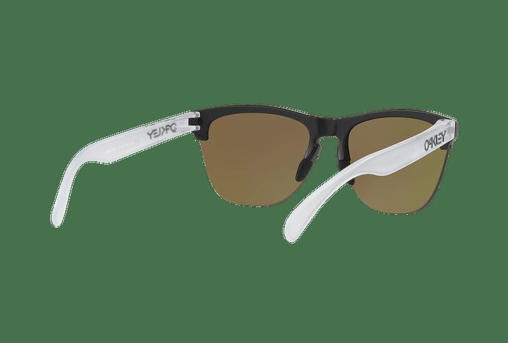 Oakley Frogskins Lite Matte Black lente Sapphire PRIZM cod. OO9374-0263 - Image 7