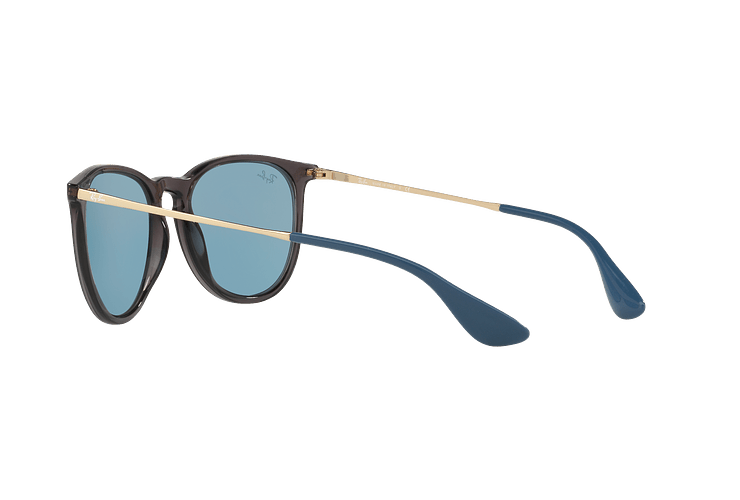 Ray Ban Erika Trasparent Grey lente Light Blue cod. RB4171 6340F7 54 - Image 4