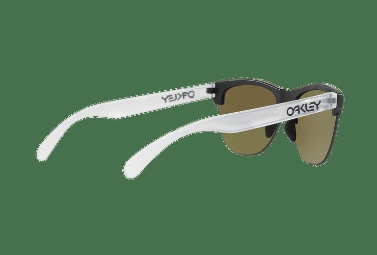 Oakley Frogskins Lite Matte Black lente Sapphire PRIZM cod. OO9374-0263 - Image 8
