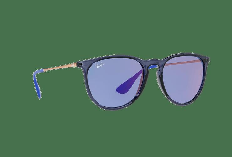 Ray Ban Erika Trasparent Blue lente Dark violet / blue cod. RB4171 6338D1 54 - Image 11
